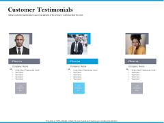 Customer Testimonials Microsoft PDF