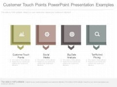 Customer Touch Points Powerpoint Presentation Examples