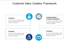 Customer Value Creation Framework Ppt PowerPoint Presentation Summary Aids Cpb