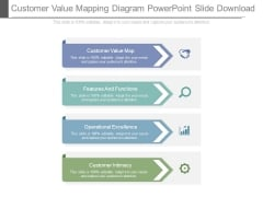 Customer Value Mapping Diagram Powerpoint Slide Download