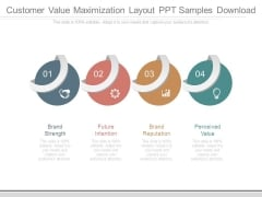 Customer Value Maximization Layout Ppt Samples Download