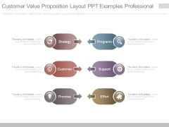 Customer Value Proposition Layout Ppt Examples Professional
