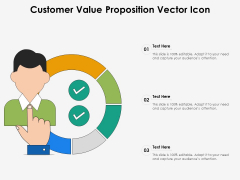 Customer Value Proposition Vector Icon Ppt PowerPoint Presentation Gallery Guide PDF