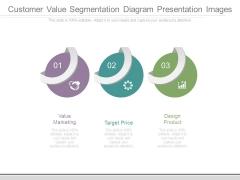 Customer Value Segmentation Diagram Presentation Images