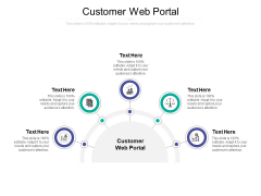 Customer Web Portal Ppt PowerPoint Presentation Icon Show Cpb