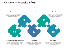 Customers Acquisition Plan Ppt PowerPoint Presentation Outline Graphic Tips Cpb