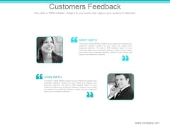 Customers Feedback Ppt PowerPoint Presentation Picture
