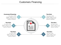 Customers Financing Ppt PowerPoint Presentation Infographics Ideas