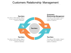 Customers Relationship Management Ppt PowerPoint Presentation Infographic Template Grid Cpb