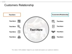 Customers Relationship Ppt PowerPoint Presentation Professional Infographic Template Cpb