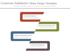 Customers Satisfaction Slides Design Templates