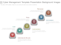 Cyber Management Template Presentation Background Images