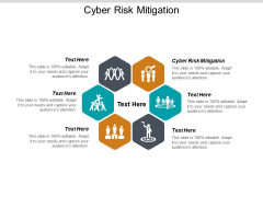 Cyber Risk Mitigation Ppt PowerPoint Presentation Infographic Template Outfit Cpb