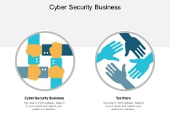 Cyber Security Business Ppt PowerPoint Presentation Inspiration Example Introduction Cpb
