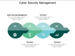 Cyber Security Management Ppt PowerPoint Presentation File Maker Cpb