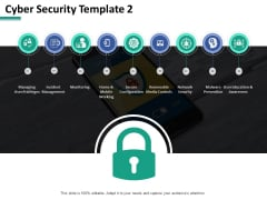 Cyber Security Network Security Ppt PowerPoint Presentation Show Rules