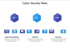 Cyber Security Risks Ppt PowerPoint Presentation Layouts Infographic Template Cpb