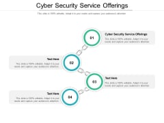 Cyber Security Service Offerings Ppt PowerPoint Presentation Icon Guide Cpb Pdf