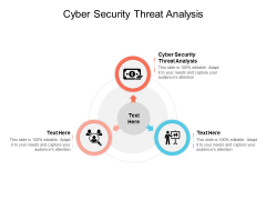 Cyber Security Threat Analysis Ppt PowerPoint Presentation Infographics Clipart Images Cpb