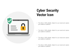 Cyber Security Vector Icon Ppt PowerPoint Presentation Ideas Example File