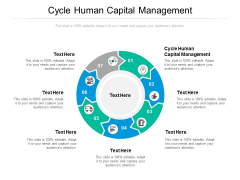 Cycle Human Capital Management Ppt PowerPoint Presentation Gallery Information Cpb