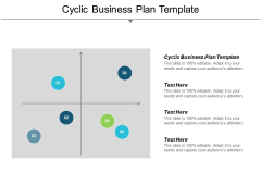 Cyclic Business Plan Template Ppt Powerpoint Presentation Outline Format Cpb