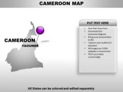 Cameroom Country PowerPoint Maps