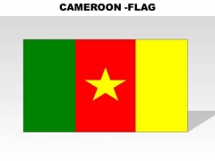 Cameroon Country PowerPoint Flags