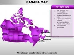 Canada PowerPoint Maps