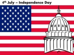 Capitol American Independence Day July 4th PowerPoint Templates