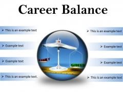 Career Family Balance Business PowerPoint Presentation Slides C