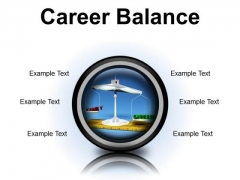 Career Family Balance Business PowerPoint Presentation Slides Cc