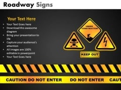 Caution Do Not Enter PowerPoint Slides And Editable Ppt Templates