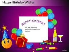 Celebrate Birthdays Editable PowerPoint Templates