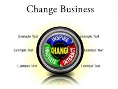 Change Business PowerPoint Presentation Slides Cc