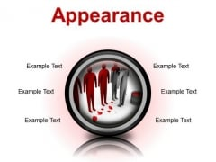 Changing Appearance Leadership PowerPoint Presetation Slides Cc