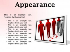 Changing Appearance Leadership PowerPoint Presetation Slides F