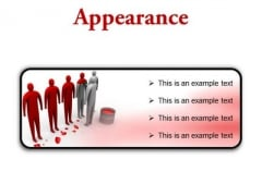 Changing Appearance Leadership PowerPoint Presetation Slides R