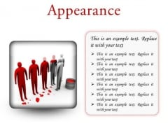Changing Appearance Leadership PowerPoint Presetation Slides S