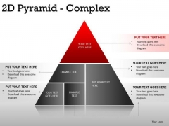 Chart 2d Pyramid Complex PowerPoint Slides And Ppt Diagram Templates