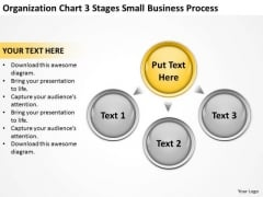 Chart 3 Stages Small Business Process Ppt Plan PowerPoint Templates