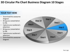 Chart Business Diagram 10 Stages Ppt Non Profit Plan Template PowerPoint Slides