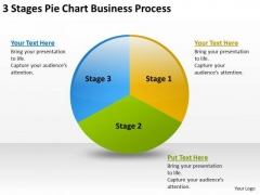 Chart Business PowerPoint Theme Process Writing Simple Plan Templates