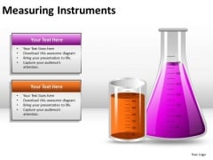 Chemical Science Experiment Beakers PowerPoint Slides And Ppt Diagram Templates