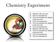Chemistry Experiment Science PowerPoint Presentation Slides Cc