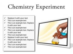 Chemistry Experiment Science PowerPoint Presentation Slides F
