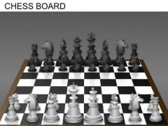 Chess Board PowerPoint Templates