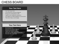 Chess Business Strategy PowerPoint Slides