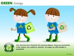 Children Recycling PowerPoint Templates Recycling Education Ppt Slides