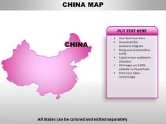 China PowerPoint Maps
